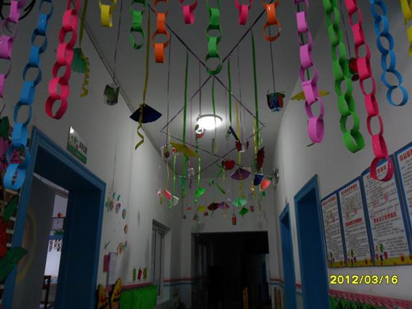 幼儿园教室布置图片梅花
